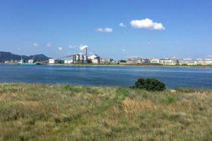 エクスラン西大寺工場ー乙子城跡付近よりー