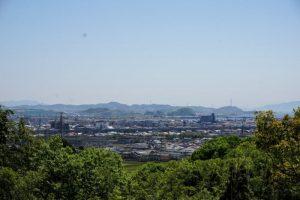 吉井川河口方面