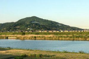 芥子山ー百間川よりー
