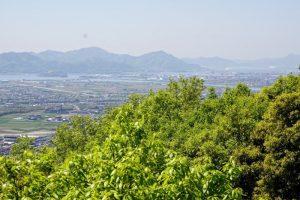 金甲山・旭川方面ー芥子山よりー