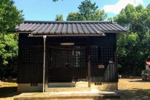 宗形神社拝殿ー亀山城跡ー