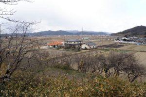浦間茶臼山古墳より北方の眺め
