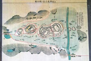 亀山城古図