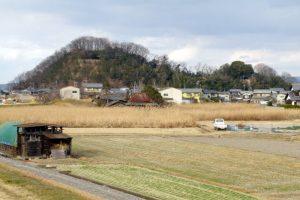 乙子城跡ー南側よりー