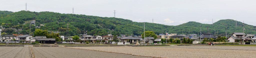 操山山系ー岡山市中区倉田よりー