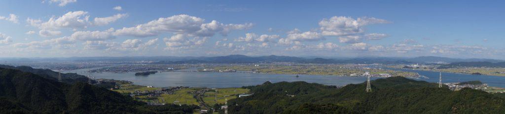 備前(岡山)平野ーパノラマー