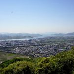 吉井川・岡山平野・児島湾方面ー芥子山山頂よりー