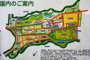 三徳園案内図