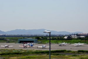 駐機場ー岡南飛行場ー