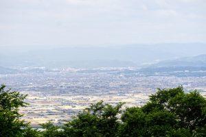 倉敷市街方面ー金甲山よりー