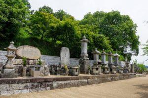 歴代住職の墓ー妙善寺ー