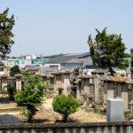 庭瀬藩主戸川家墓所