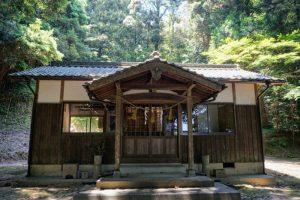 拝殿ー徳蔵神社ー
