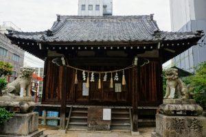 拝殿ー金刀比羅神社ー