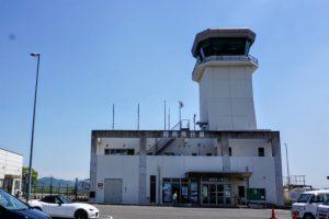 空港ビルー岡南飛行場ー