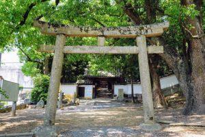 参道ー栗村神社ー