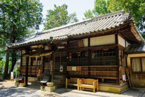 拝殿ー栗村神社ー