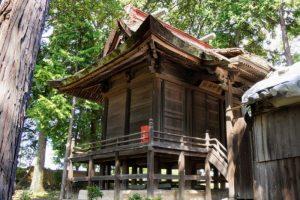 栗村神社本殿
