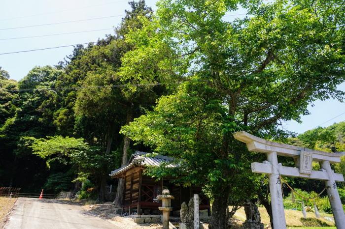 徳蔵神社の森ー郷土記念物ー