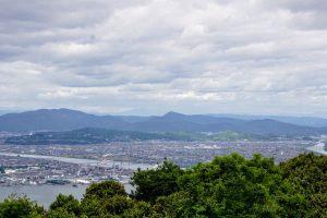 操山丘陵ー金甲山よりー