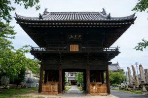 仁王門ー妙林寺ー