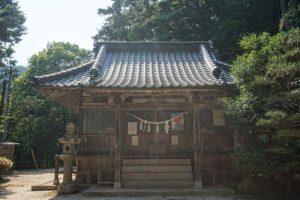 拝殿ー七曲神社ー