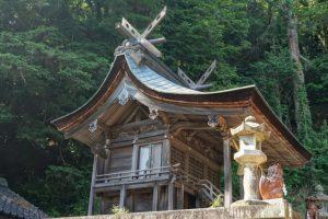 本殿ー七曲神社ー