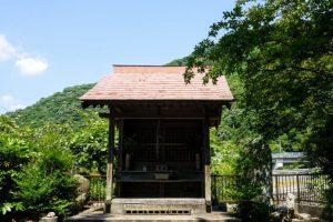 三十番神社ー虎倉城跡登り口ー