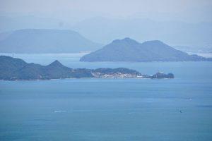 男木島方面ー瀬戸内海国立公園貝殻山よりー