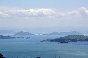 男木島・女木島方面ー瀬戸内海国立公園貝殻山よりー