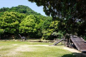 中央広場(初夏)ー岡山市民憩いの森ー