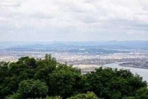 岡山総合流通センター方面ー金甲山よりー