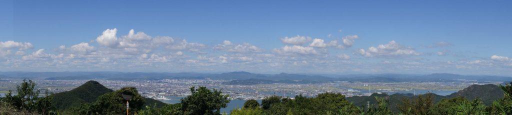 岡山平野パノラマー金甲山よりー