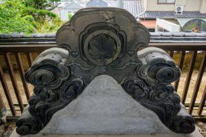 旧客殿の鬼瓦ー妙善寺ー