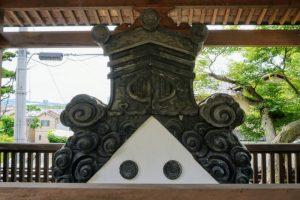 旧本堂の鬼瓦ー妙善寺ー