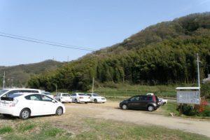 駐車場ー奥迫川大山桜ー