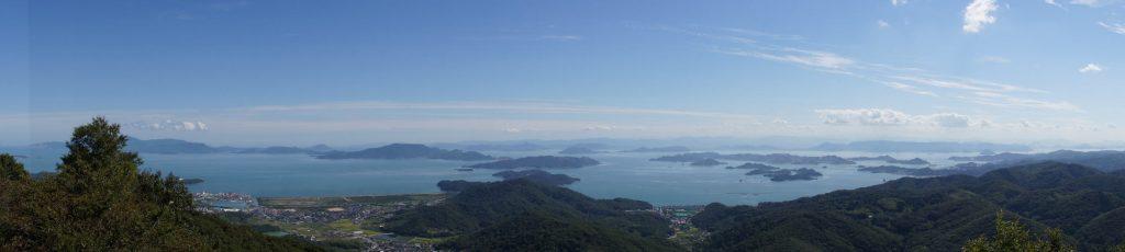 瀬戸内海のパノラマー金甲山よりー