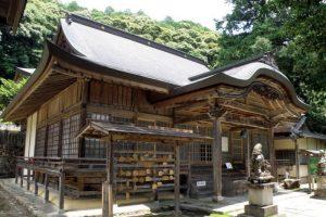 拝殿ー志呂神社ー
