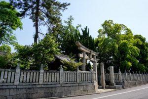 御前神社玉垣