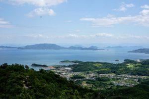 豊島方面ー八丈岩よりー
