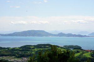 豊島方面ー瀬戸内海国立公園貝殻山よりー