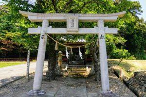 参道ー徳蔵神社ー