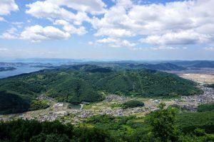 西児島方面ー金甲山よりー