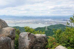 吉井川方面ー三頂山よりー