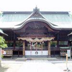 拝殿ー宗忠神社ー