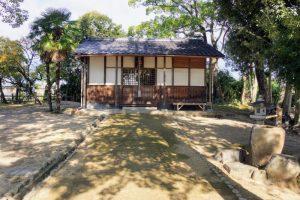 三神社ー撫川城跡ー
