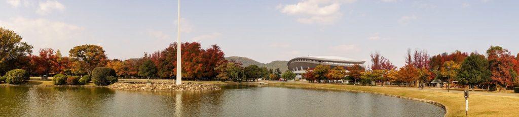 岡山県総合グラウンドーパノラマ―