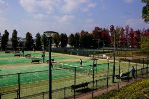 岡山県総合グラウンド南テニスコート