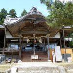 拝殿ー皷神社ー
