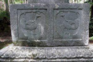 宝塔 基盤・基壇ー皷神社ー